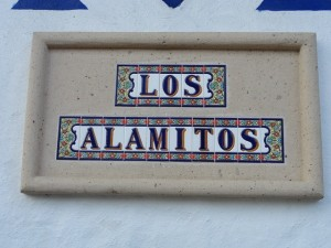 Placa Los Alamitos